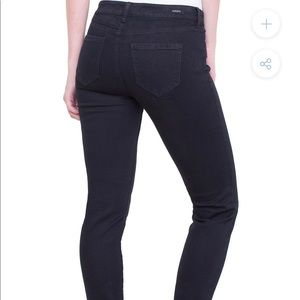 Liverpool Skinny Black Jean